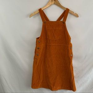 Old navy corduroy overall dress large (10-12)